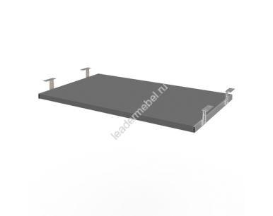Полка для клавиатуры (пластик черный)