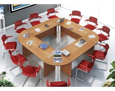 Составные столы для переговоров Агат