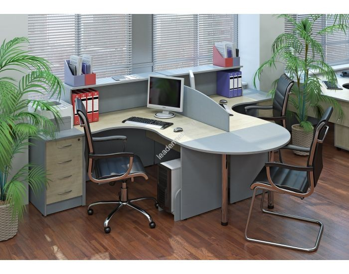 Купить мебель для офиса для небольшого кабинета: специфика подбора